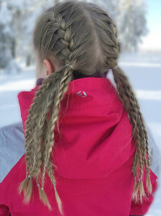 Awful Kids Braided Hairstyles With Beads Ideas To The Hair