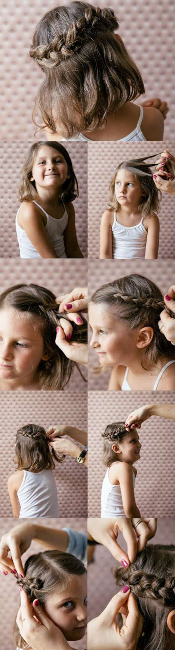 20 Quick And Easy Braids For Kids Tutorial Included