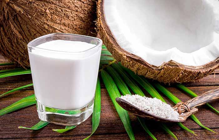 Henna And Coconut Milk