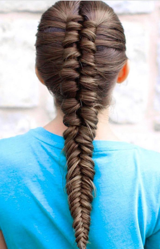 Infinity-Fishtail-Braid