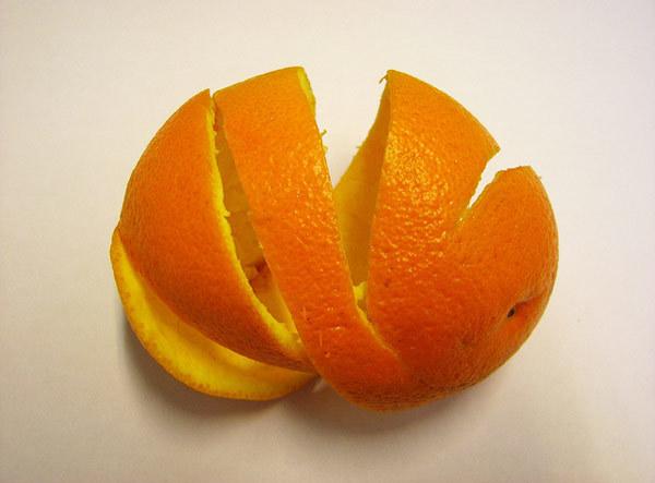 Orange Peel for hair