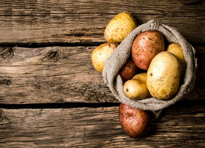 Potato for homeremedis