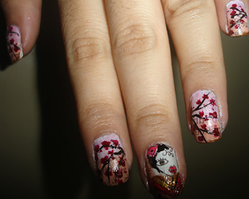 Tree-With-Leaf-Nail-Art1