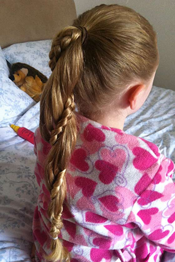 20 Quick And Easy Braids For Kids (Tutorial Included)