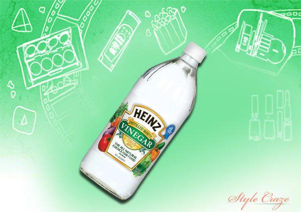 Vinegar for hair
