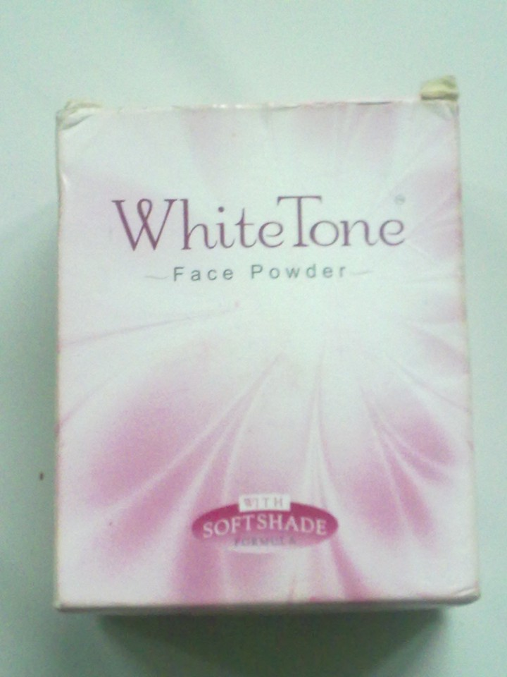 White Tone Face Powder With Soft Shade