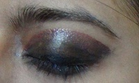 black eye makeup tutorial step4