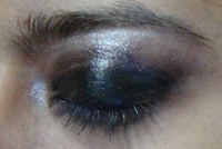 black eye makeup tutorial step5
