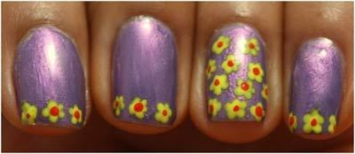 Flower Nail Art Designs - can stop here if you want