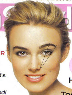 get perfect eyebrow shape for your face
