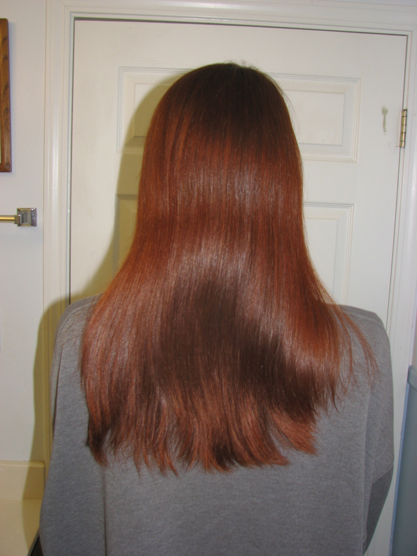 Henna Hair Dye Color Before And After Treatment Dye Read Dye Lush