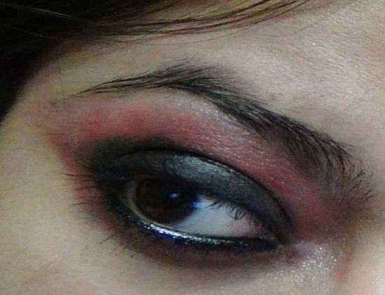 pink smokey eye makeup look