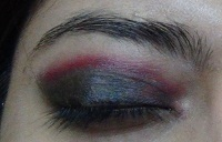 pink smokey eye makeup tutorial step3
