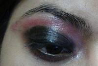 pink smokey eye makeup tutorial step6