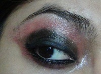 pink smokey eye makeup tutorial step7
