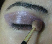 purple eye makeup step2