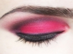 rose eye makeup
