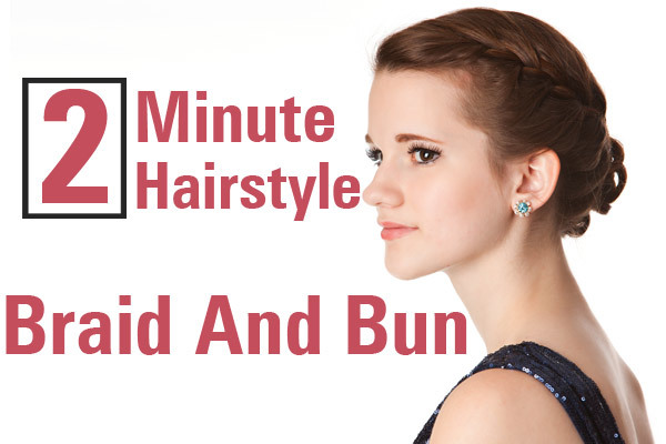 two minute hairstyles