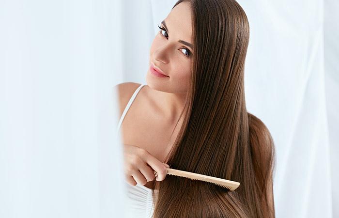 1. Promuove la salute dei capelli,