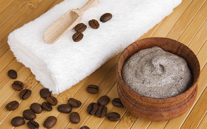 1. Coffee Body Scrub