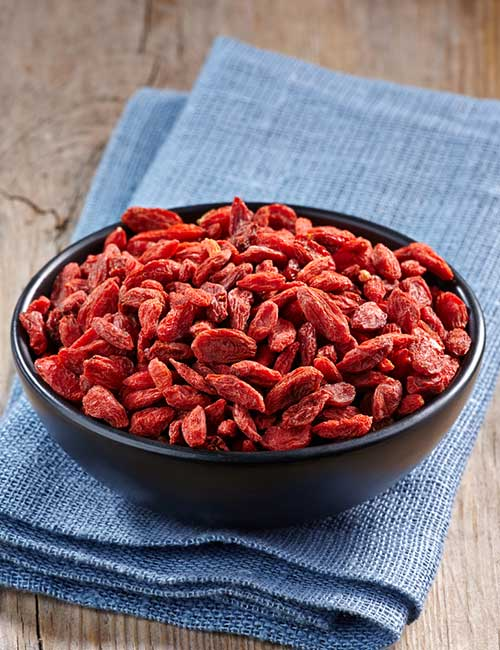 1.Goji Berries
