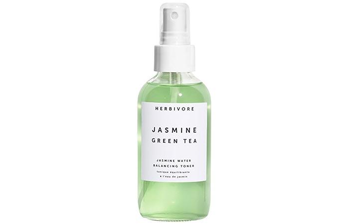 1. Herbivore Botanical Jasmine Green Tea Balancing Toner