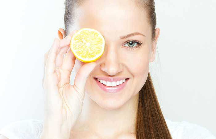 Fruits For Skin - Lemon