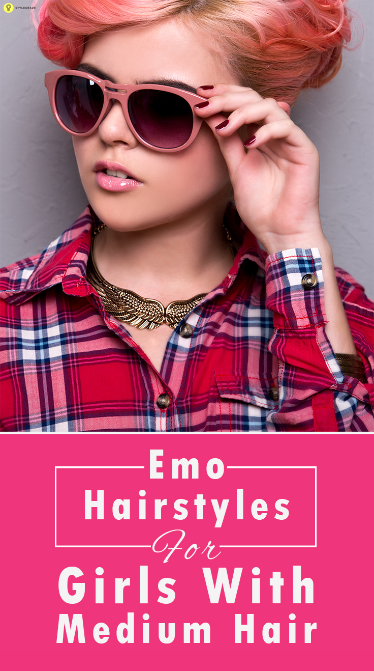 Pleasant 10 Emo Hairstyles For Girls With Medium Hair Short Hairstyles Gunalazisus
