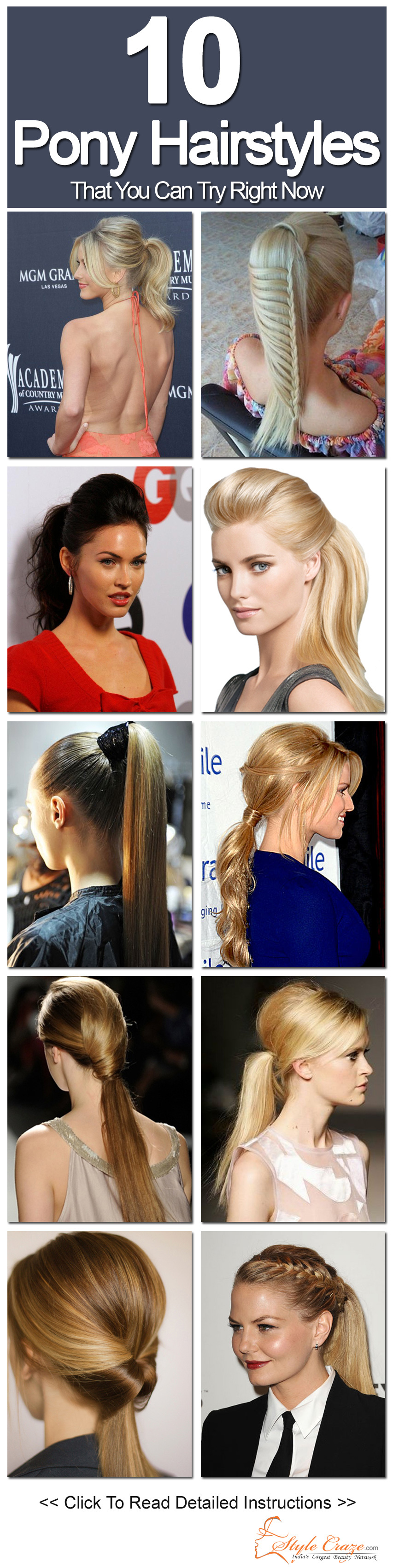 Awe Inspiring 10 Pony Hairstyles That You Can Try Short Hairstyles For Black Women Fulllsitofus