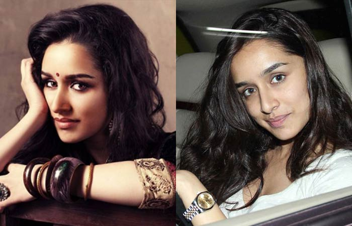 Hindi Actress Shraddha Kapoor Without Makeup