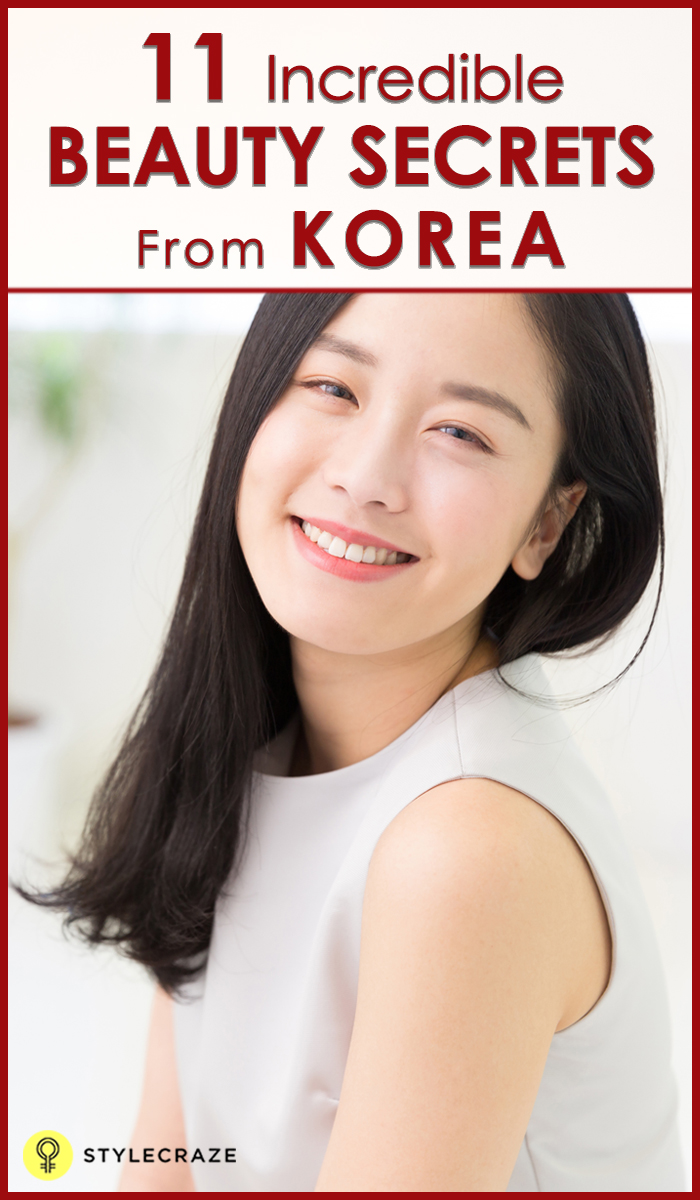 11 Korean Beauty Secrets You Should Definitely Know
