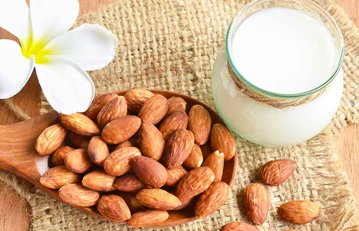 Image result for face  care through almonds