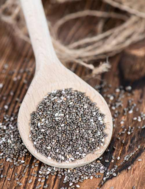 Belly Fat Burning Foods - Chia Seeds