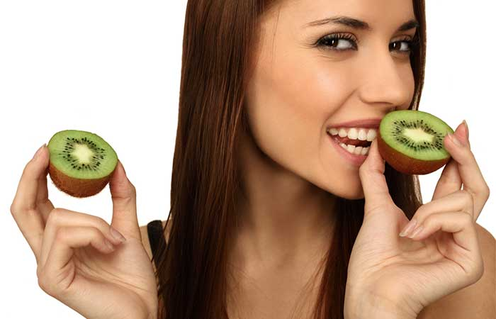 Fruits For Glowing Skin - Kiwi