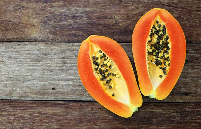 14. Papaya For Hyperpigmentation