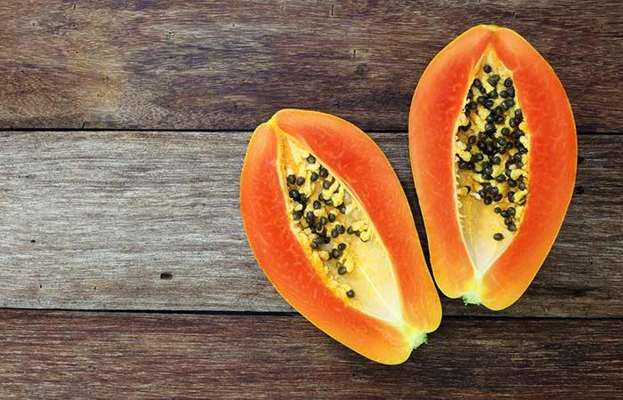14. Papaya For Hyperpigmentation