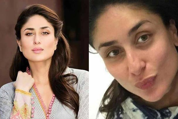 Bollywood Celebrity Kareena Kapoor Without Makeup