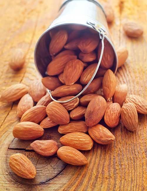 17. Almonds