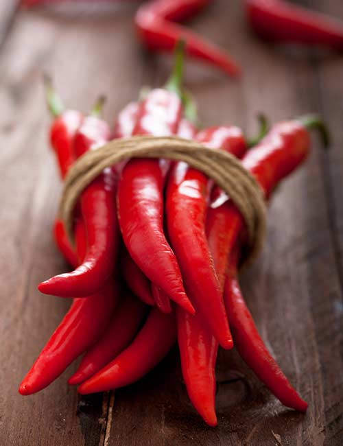 Belly Fat Burning Foods - Spicy Chili Peppers