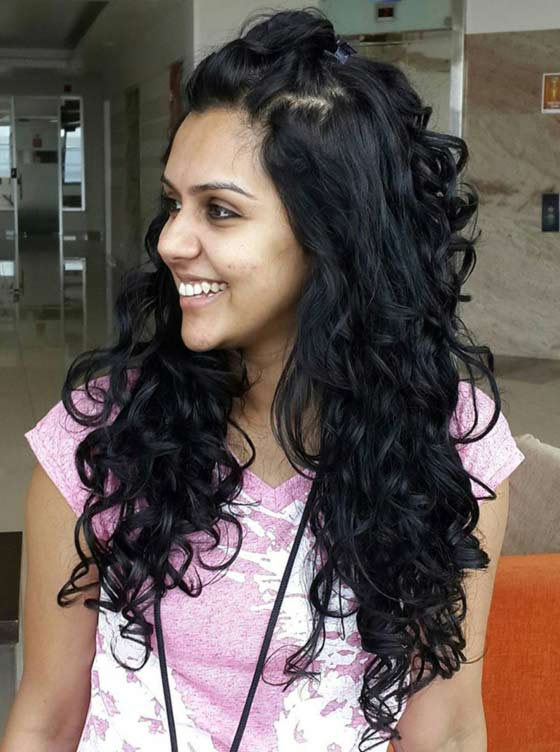 Best Indian Hairstyles You Must Try In - Curly hairstyle indian