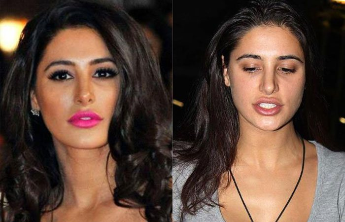 Nargis Fakhri without Makeup