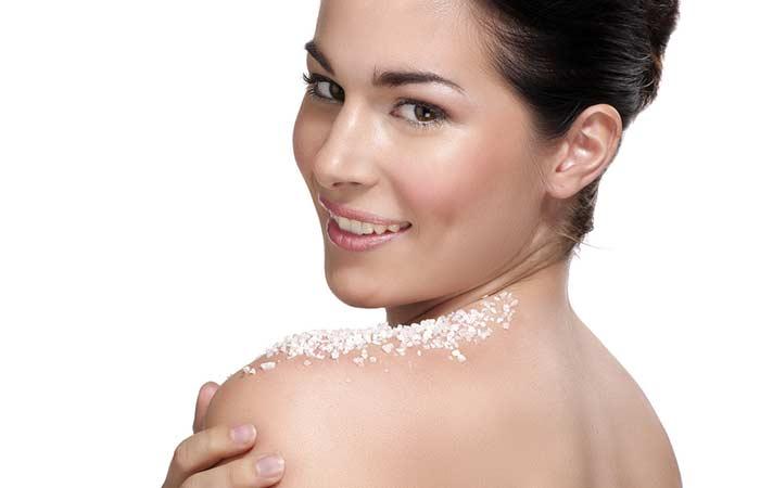 2. Sea Salts Body Scrub For Glowing Skin