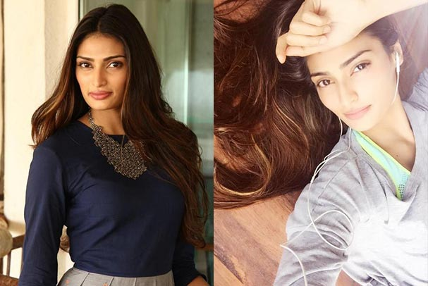 Bollywood Actress Athiya Shetty Without Makeup