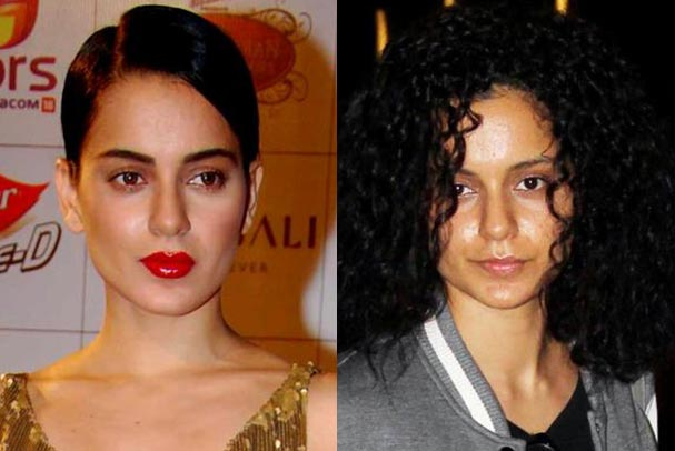 Kangana Ranaut No Makeup Picture