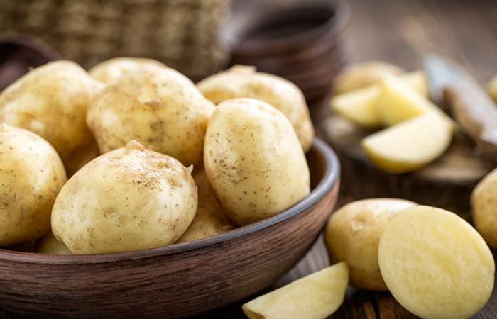 Image result for Potato for curing dark spots