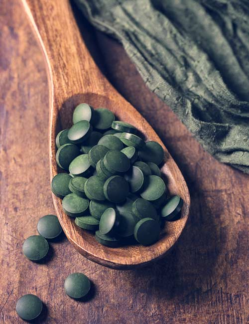 Belly Fat Burning Foods - Spirulina