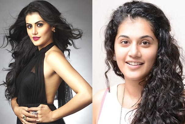Indian Bollywood Actress Taapsee Without Makeup