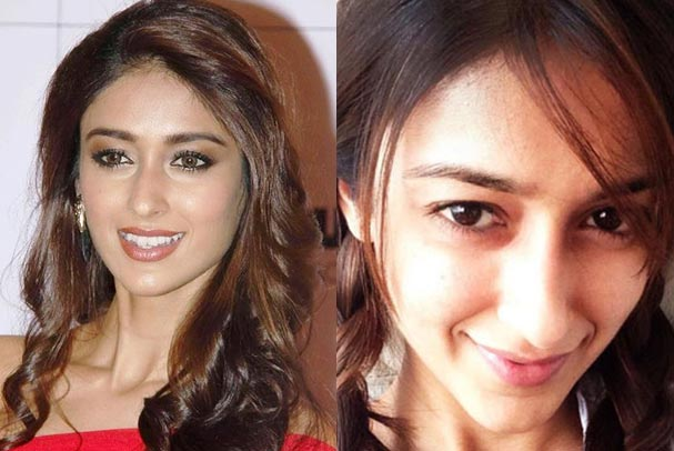 Bollywood Beauty Ileana D'Cruz No Makeup Picture