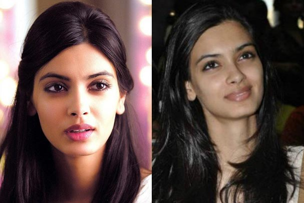 Indian Bollywood Actress Diana Penty Without Makeup