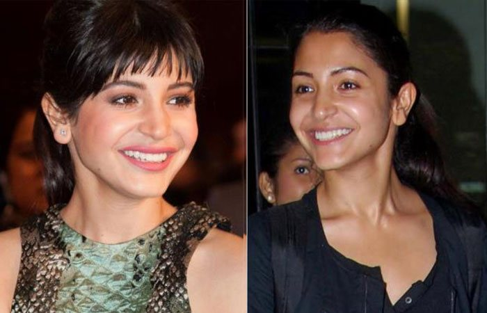 3. Anushka Sharma without Makeup